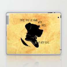 Those That Lie Down With Dogs, Get Up with Fleas Laptop & iPad Skin