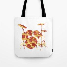 Pizza Beat Tote Bag