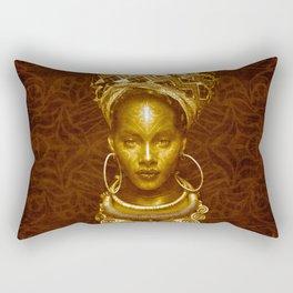 Afrofuturist style Rectangular Pillow