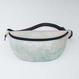 Pink beach Fanny Pack