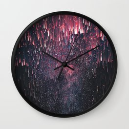 Stars Juice Wall Clock