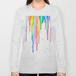 Colorful Icicles Long Sleeve T-shirt