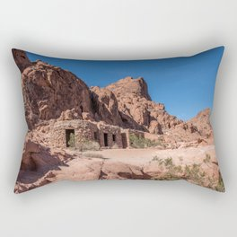 Sandstone Cabins Rectangular Pillow