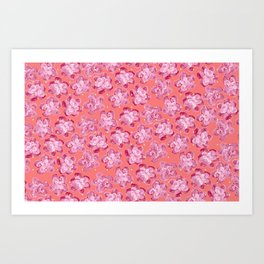 Wallflower - Rosette Art Print