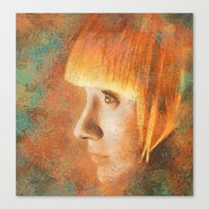 Citric Burn Canvas Print