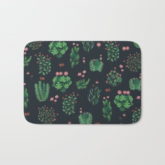 New Nature at Night Bath Mat