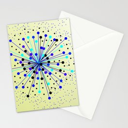 Colourful Abstract Background Stationery Cards