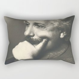 Albert Einstein rare photo Rectangular Pillow
