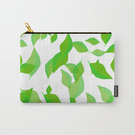 Leaves of spring Carry-All Pouch