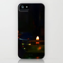 Candle Lit iPhone Case