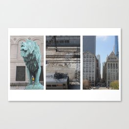 My Chicago Canvas Print