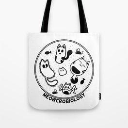 Meowcrobiology Tote Bag