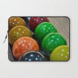 Bowling Balls Laptop Sleeve