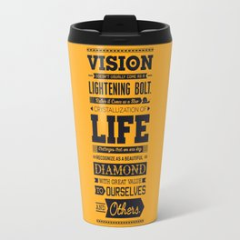 Lab No. 4 Vision Does Usually Dr. Michael Norwood Life Motivational Quotes Travel Mug