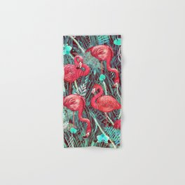 FLAMINGOS  Hand & Bath Towel