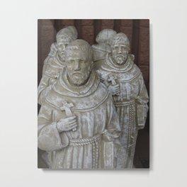 Saint Francis In Abundance Metal Print