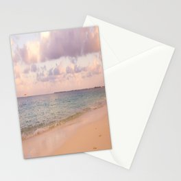 Dreamy Beach View Stationery Cards
