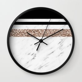 Exotica marble Wall Clock