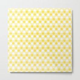 Kubrik - light cubes Metal Print