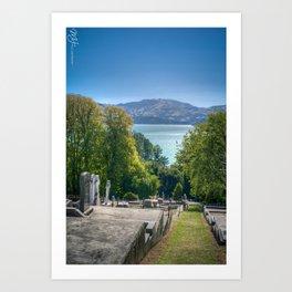 Peaceful Rest Art Print