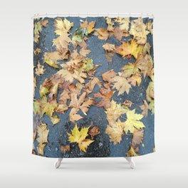 Autumn Floor Shower Curtain
