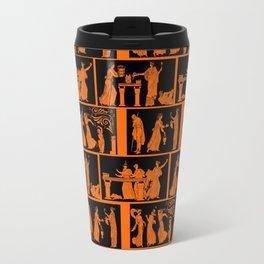 toga party squares Travel Mug