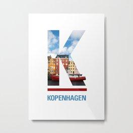 K-openhagen Metal Print