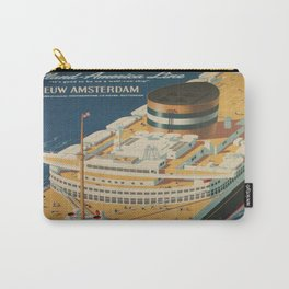 Vintage poster - Cruise ship Carry-All Pouch