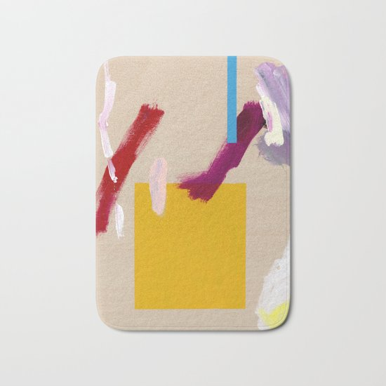 Untitled (Abstract Composition 3) Bath Mat