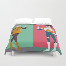DBZ Team Duvet Cover