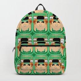 Basketball Green - Court Dunkdribbler - Victor version Backpack