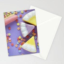 Purple Gummy Candy Stationery Cards