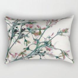Fantasies in the deep of winter Rectangular Pillow