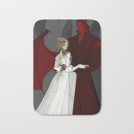 The Demon and the Countess Bath Mat