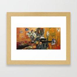 Gumball Golden Hour Framed Art Print