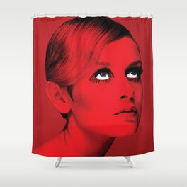 Red Fashion Shower Curtain