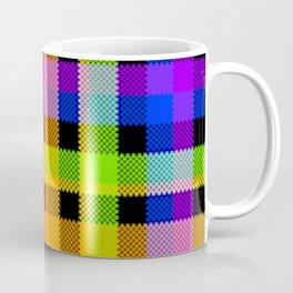 Bright Tartan, Squared Up Coffee Mug