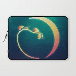 Snail's Moon Eclipse Laptop Sleeve