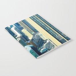 Dubai cityscape Notebook
