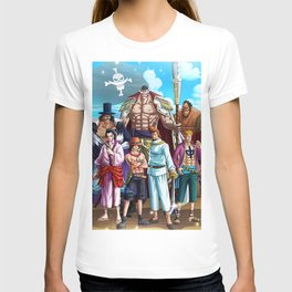 Whitebeard Pirates - one piece T-shirt