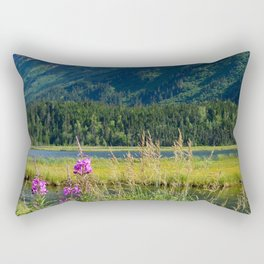 July at Tern Lake - II Rectangular Pillow