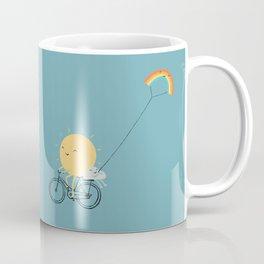 Rainbow Kite Coffee Mug