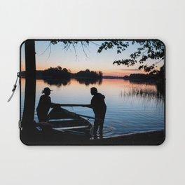 on the lake Laptop Sleeve