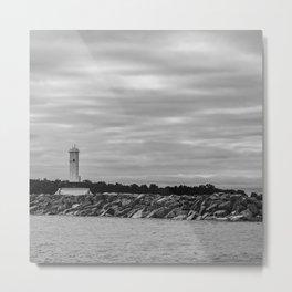 Light house at Mackinac Island Metal Print