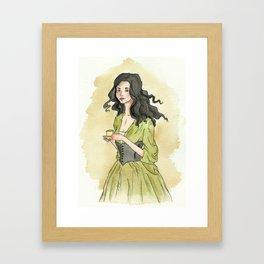 Mrs. Lavinia Fisher Framed Art Print