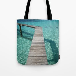 Stingray Boardwalk - Nassau Tote Bag