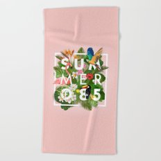 SUMMER of 85 Beach Towel