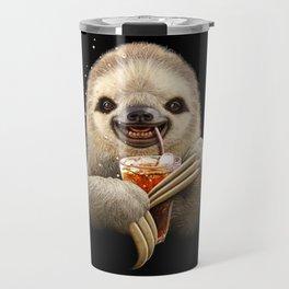 SLOTH & SOFT DRINK Travel Mug