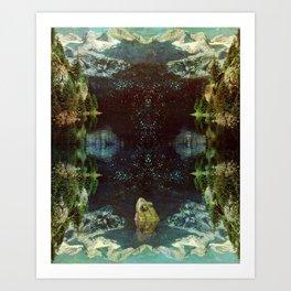 Black River Art Print