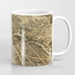 Bird's Eye View of Dover, New Hampshire (1877) Coffee Mug